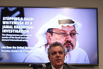 Flere organisasjoner krever at FN etterforsker Khashoggi-saken