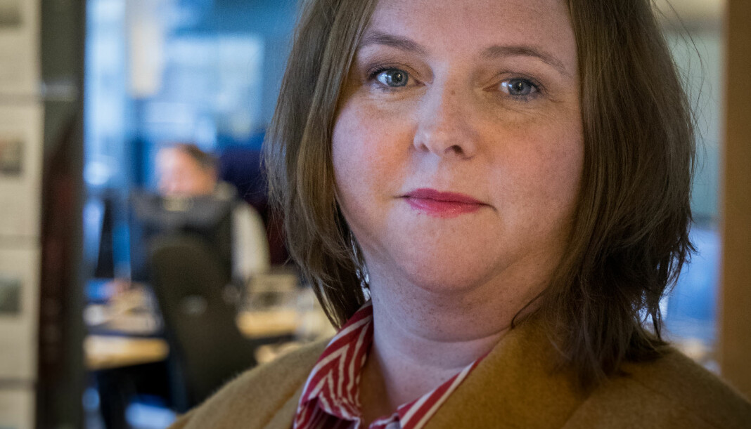 Charlotte Ervik tek over som distriktsredaktør i NRK Møre og Romsdal. Foto: Remi Sagen