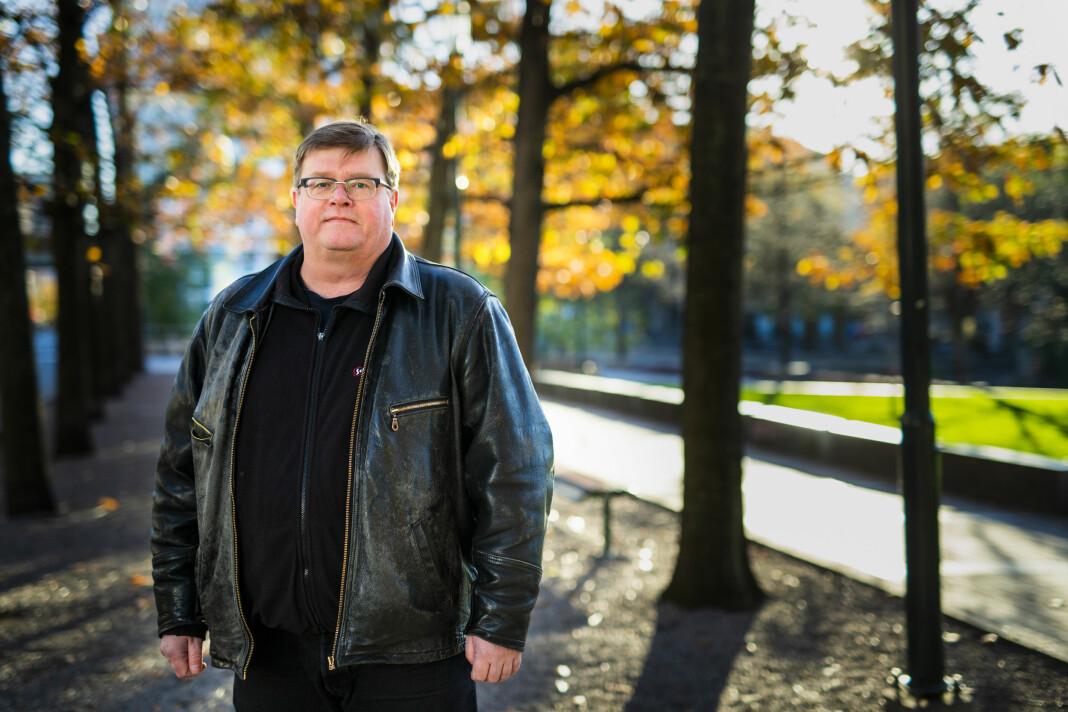 – De må sette livet sitt på pause, sier Rolf Johansen, nestleder i NRKJ om de midlertidige ansatte i NRK. Foto: Kristine Lindebø