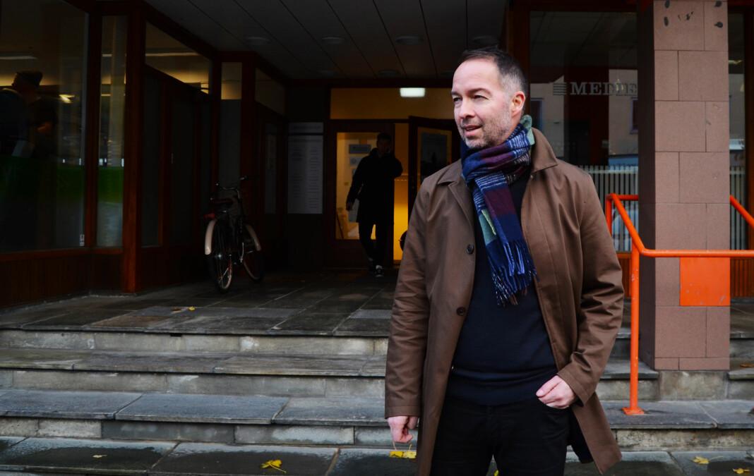 Geir Are Jensen er gründeren bak Bodø Nu, og nå også ansvarlig redaktør i Narvik Nu. Arkivfoto: Guro Flaarønning.