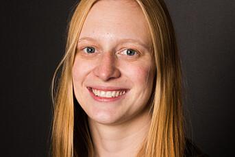 Ylva Seiff Berge er på plass som fotojournalist i Forsvarets forum