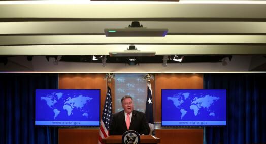 – USA godtar ikke slike handlinger for å bringe en journalist som Jamal Khashoggi til taushet