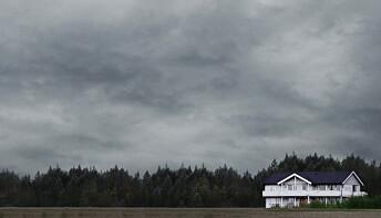 Orderud gård - åstedet for trippeldrapet for 19 år siden. Foto: NRK