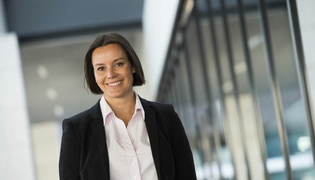 Nina Vesterby er fra 1. januar på plass i Egmont Publishing. Foto: Egmont