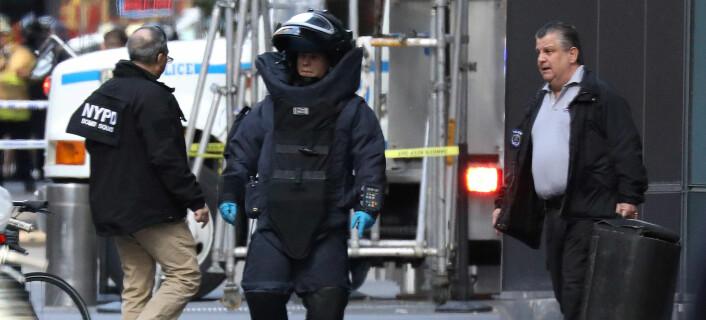 CNN-sjef refser Trumps retorikk etter funn av bombepakke