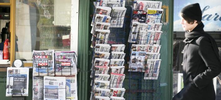 Bare fem av hundre saker skrevet av lokale medier er kritisk vinklet