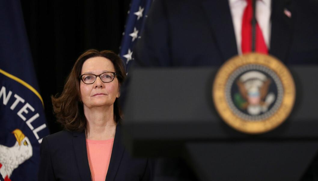 Washington Post skriver at CIA-sjef Gina Haspel har fått avspilt lydopptak fra drapet på den regimekritiske journalisten. Foto: Reuters / NTB scanpix