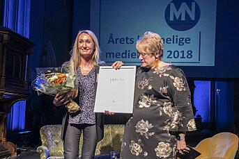 Kirsti Husby er årets Årets kvinnelige medieleder