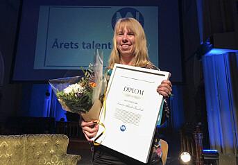 Årets talent er Anniken Renslo Sandvik