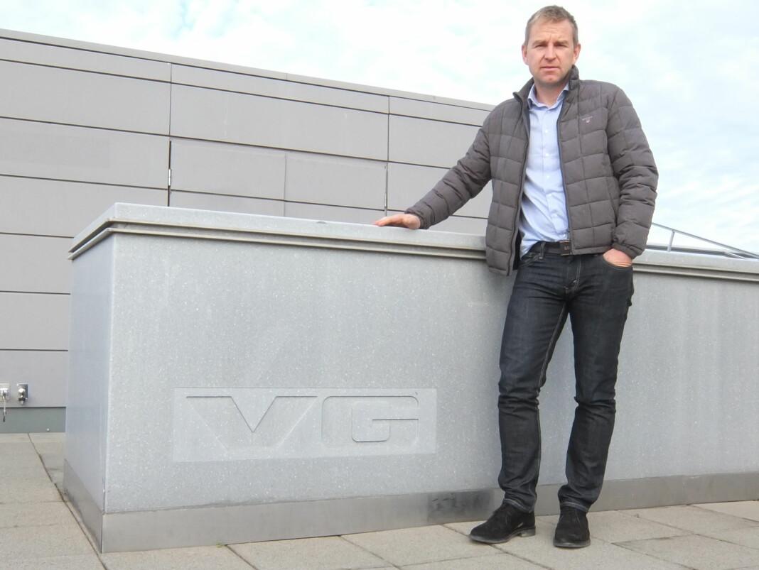 Øystein Milli ser fram til å jobbe fulltid for VG igjen. Men først må han lande NRKs storsatsing Gåten Orderud. Foto: Roger Aarli-Grøndalen
