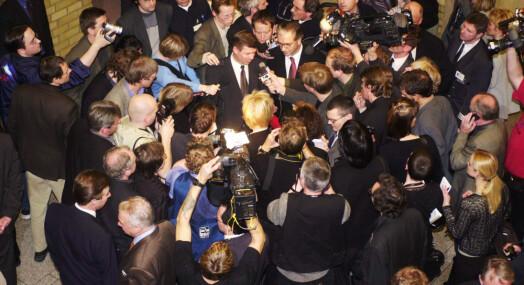 TILBAKEBLIKKET: Slik så det ut sist gang KrF stod midt i mediestormen