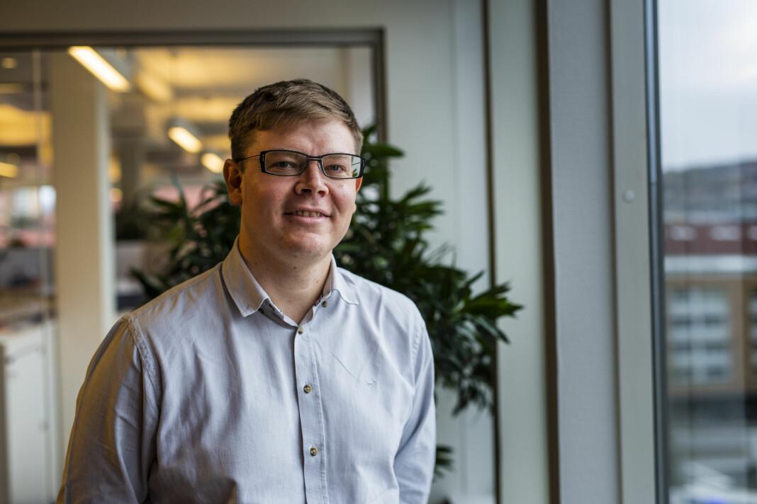 Glenn Slydal Johansen går fra Journalisten til KLP. Foto: Kristine Lindebø