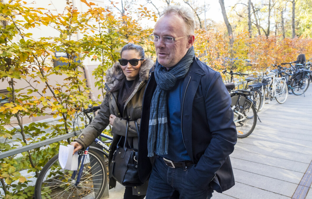 Per Sandbergs datter har klaget inn flere artikler Fiskeribladet skrev om faren og hans kjæreste Bahareh Letnes, til PFU. Foto: Heiko Junge / NTB scanpix