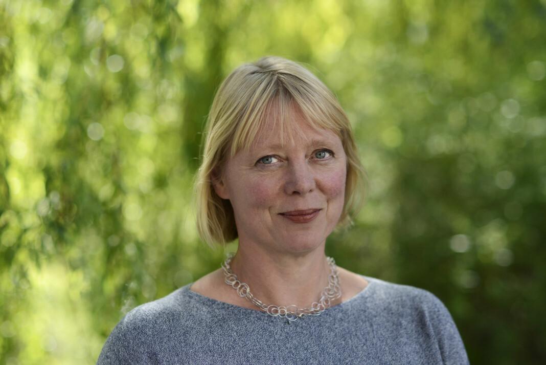 Juryleder for IR-prisen Anne Hege Simonsen er førsteamanuensis ved Institutt for journalistikk og mediefag ved Oslomet. Foto: Sonja Balci / Oslomet
