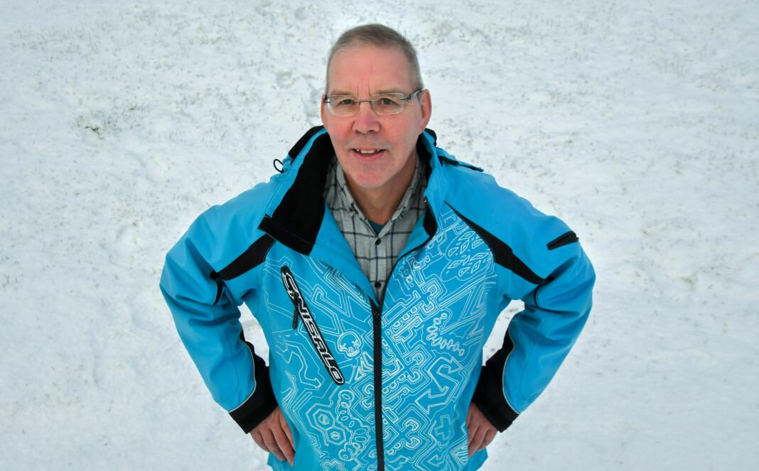 Rolf Randa er ny journalist i Sør-Varanger Avis. Foto: Foto: Håvard S. Mækelæ/Sør-Varaner Avis