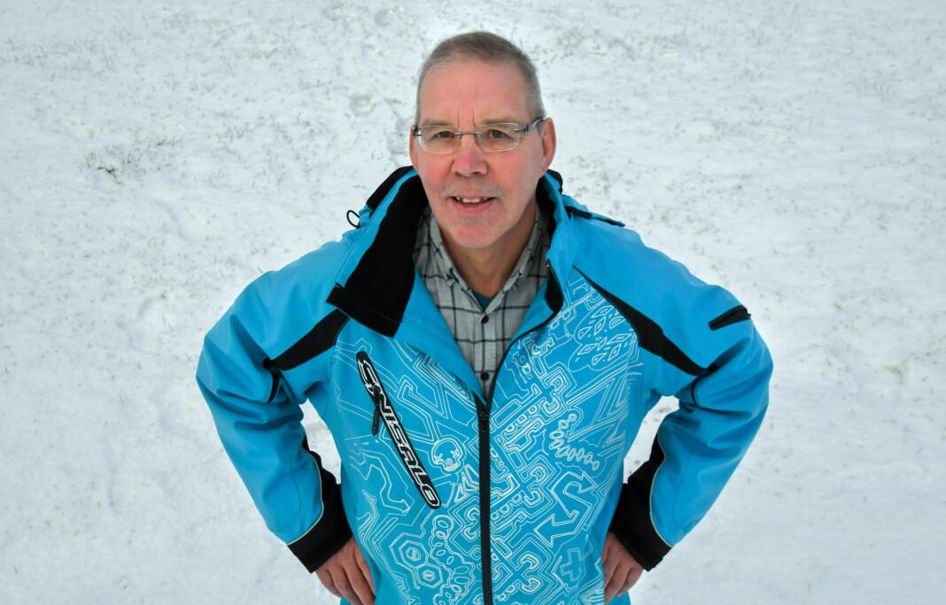 Rolf Randa ble ansatt som journalist i Sør-Varanger Avis i oktober 2018. Foto: Foto: Håvard S. Mækelæ/Sør-Varanger Avis