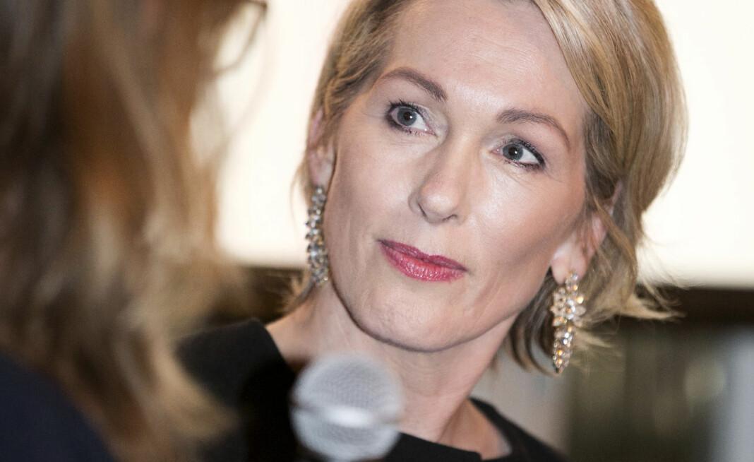 Innovasjon Norge, her ved administrerende direktør Anita Krohn Traaseth, klaget E24 inn til Pressens Faglige Utvalg. Foto: Pontus Höök / NTB scanpix