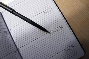 Ba om kalenderinnsyn, der sto det at ordføreren skulle til Bergen for å skrifte