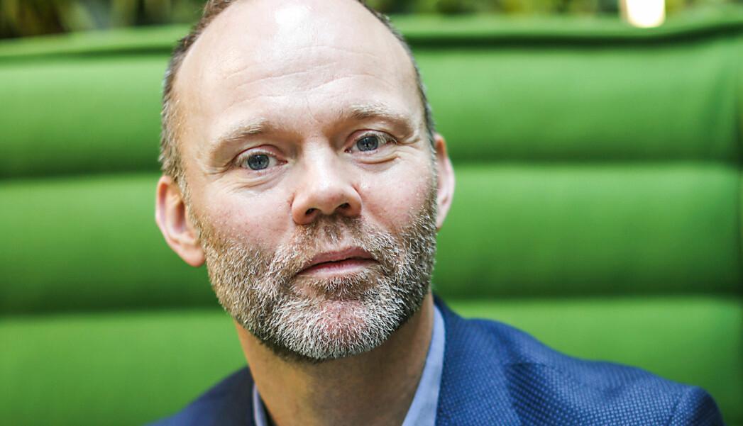Trond Juliussen, administrerende direktør i Bonnier Media AS. Han blir selv rammet av nedleggelsen. Foto: Jørgen Pedersen.