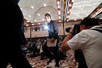 Bortført japansk journalist forsvarer krigssonedekning