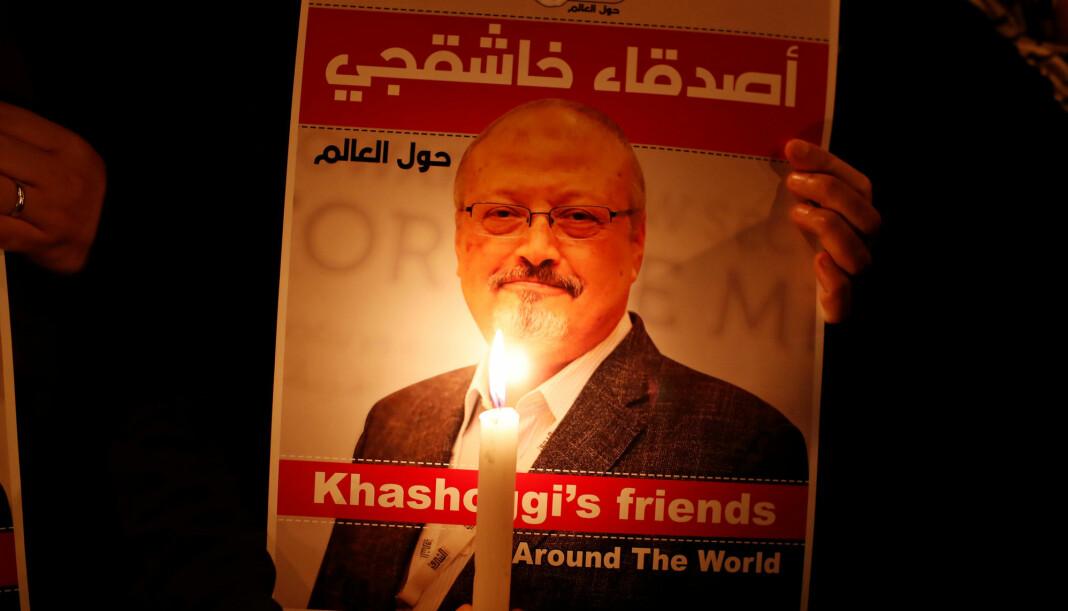 Den drepte journalistens sønn, Salah Khashoggi, møtte nylig Saudi-Arabias kronprins Mohammed bin Salman og kong Salman. Foto: Reuters / NTB scanpix