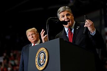 Fox-programledere irettesatt etter taler på Trump-valgmøte