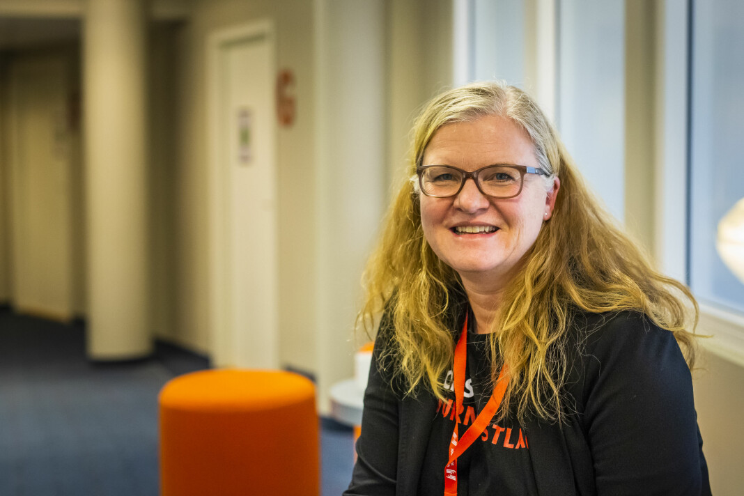 Leder i NJ Frilans, Oddrun Midtbø er glad for at også LO Media slutter seg til rammeavtalen for frilansere . Arkivfoto: Kristine Lindebø