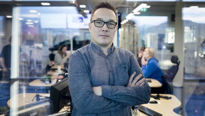 Robin Mortensen, distriktsredaktør NRK Finnmark. Foto: Eskil Wie Furunes/NRK