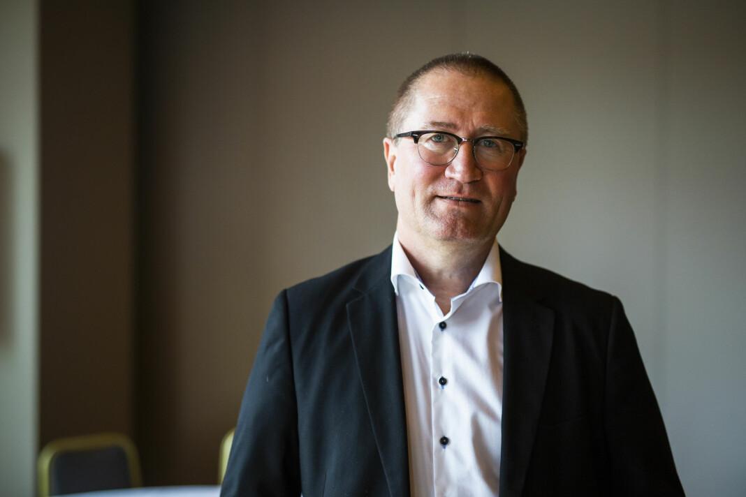 Kulturpolitisk talsmann Geir Jørgen Bekkevold i Kristelig Folkeparti (KrF) vil øke pressestøtten. Foto: Kristine Lindebø