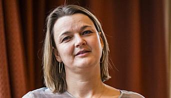 NJ-leder Hege Iren Frantzen. Foto: Kristine Lindebø