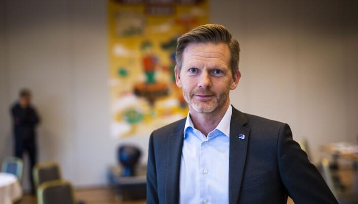 Høyres Tage Pettersen. Foto: Kristine Lindebø