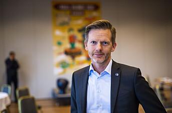 Høyres Tage Pettersen utelukker ikke pressestøtte til NTB. Foto: Kristine Lindebø