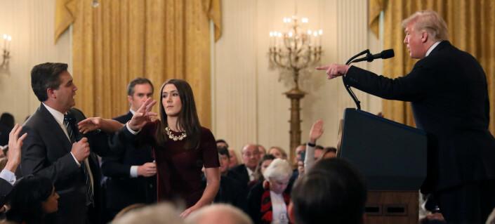 Dommer skal behandle CNNs klage mot Det hvite hus