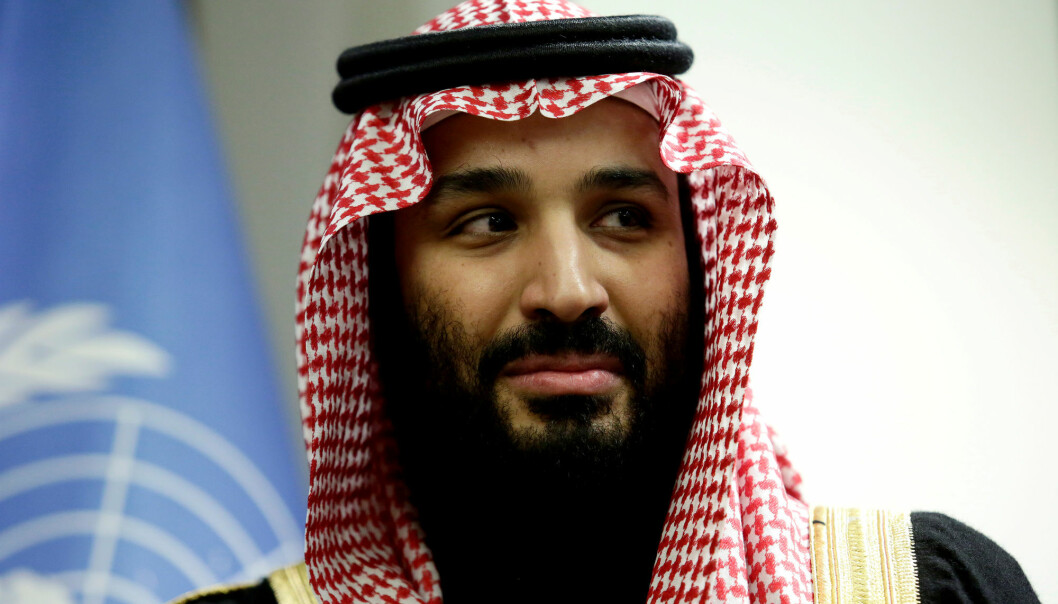 Saudi-Arabias kronprins Mohammed bin Salman knyttes til drapet på journalisten Jamal Khashoggi. Foto: Reuters / NTB scanpix