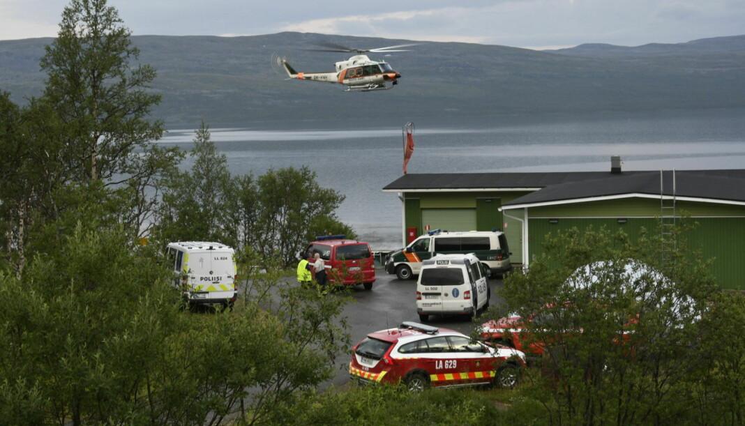 NRKs distriksredaktør Morten Ruud omkom og en ble lettere skadd da et gyrokopter styrtet ved Kilpisjärvi i Finland i juli i år. Foto: Gareth Hutton / NTB scanpix