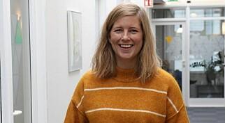 Marie Havnen får mentor. Foto: Astrid Iren Solheim Korsvoll/Firda