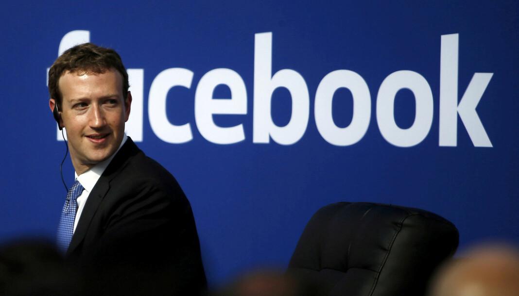 Facebook har fjernet over 3 milliarder falske kontoer fra oktober i fjor til mars i år. På bildet Facebook-gründer Mark Zuckerberg. Foto: Stephen Lam Reuters / NTB Scanpix