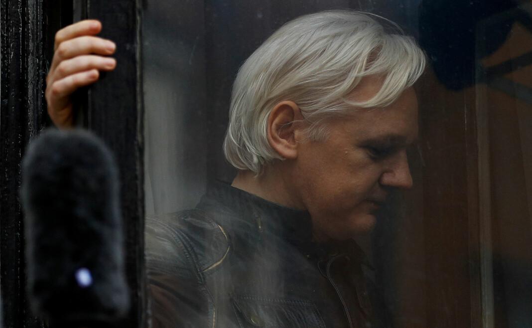 Julian Assange har tilbrakt flere år i Ecuadors ambassade i Storbritannia. Arkivfoto: Reuters / NTB scanpix