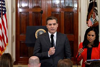 Dommer: Det hvite hus må gi CNN-journalist akkrediteringen tilbake