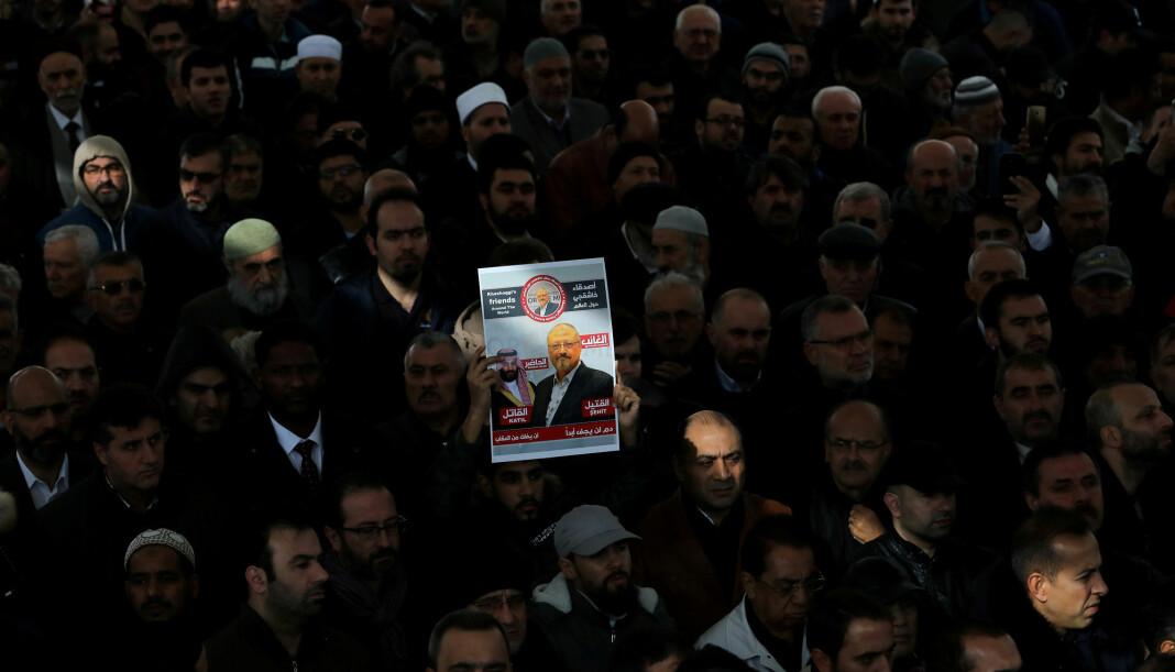 CIA har konkludert med at Mohammed bin Salman bestilte drap på den regimekritiske journalisten Jamal Khashoggi, ifølge Washington Post. Foto: Reuters / NTB scanpix