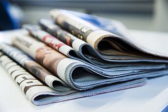 Nye lesertall: 39 prosent leser fremdeles én papiravis hver dag