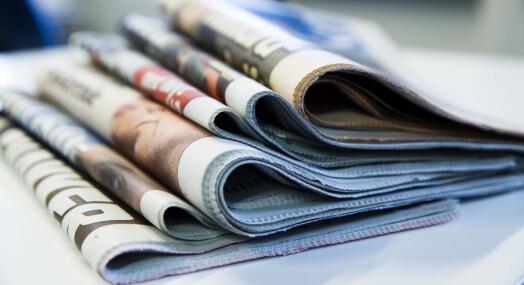 Avisenes annonseinntekter stuper. – Veldig dramatisk