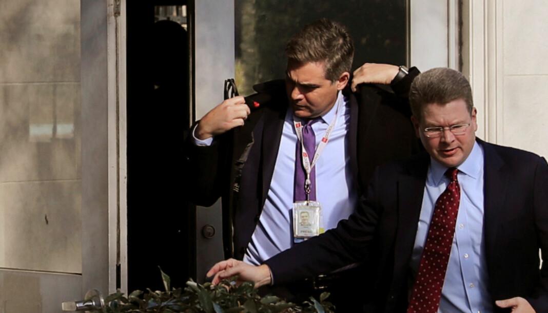 CNN-reporter Jim Acosta har nå fått tilbake presseakkrediteringen til det Det hvite hus permanent. Foto: Reuters / NTB scanpix