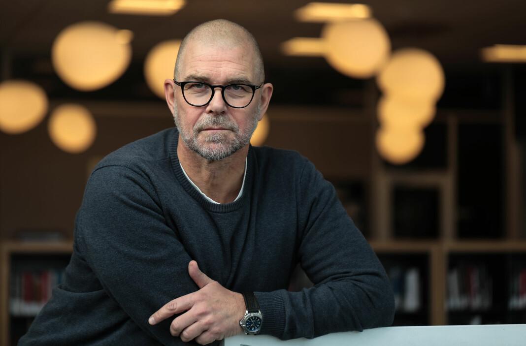 Rino Andersen skal nå se om det finnes et liv utenfor journalistikken. Foto: Jørn Grønlund