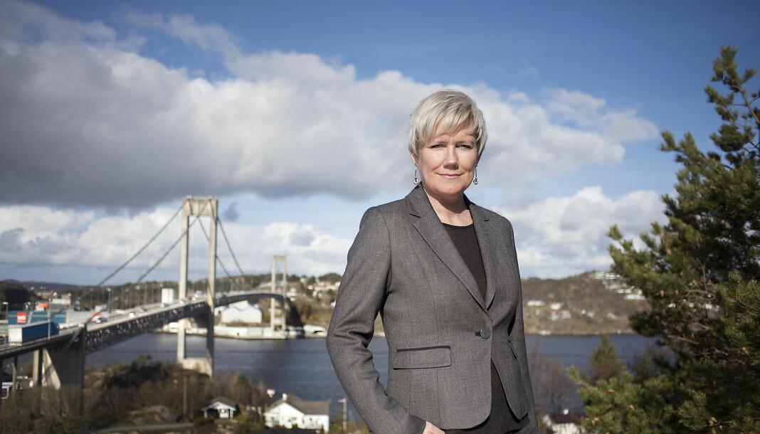 Marit Kalgraf er ansatt som ansvarlig redaktør i Askøyværingen og Vestnytt. Foto: Odd Mehus