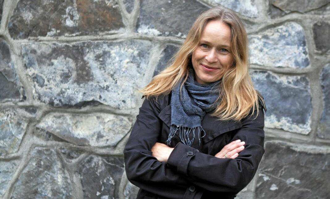 Sjefredaktør Irene Halvorsen i Nationen satser nå mer på meningsbærende innhold på nett. I dag lanseres #Motkultur. Foto: Henrikke Havaas