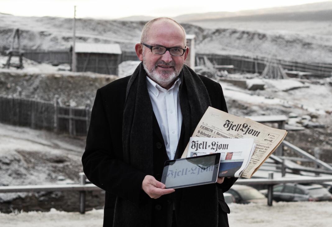 Nils Kåre Nesvold blir ny redaktør i avisa Fjell-Ljom, lokalavisa for Røros.