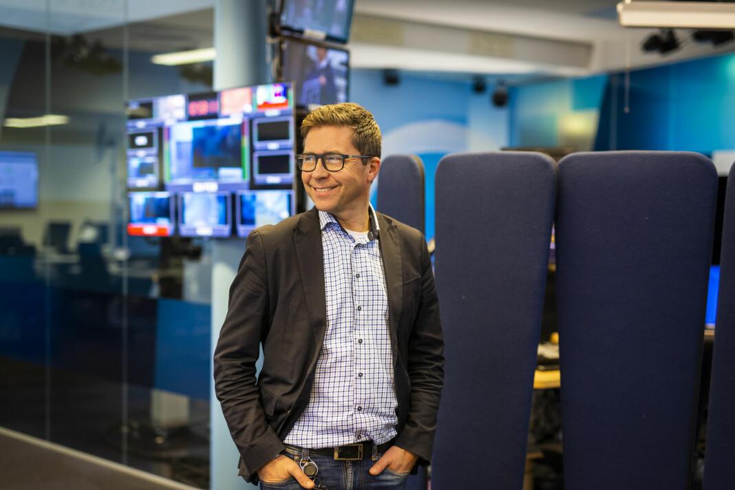 – Nå lager vi ingenting til nett som ikke har skikkelig kvalitet, sier distriktsredaktør Ragnar Christensen i NRK Rogaland. Foto: Kristine Lindebø