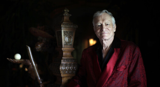 Playboy-redaktørens silkepyjamas og sengetøy solgt på auksjon