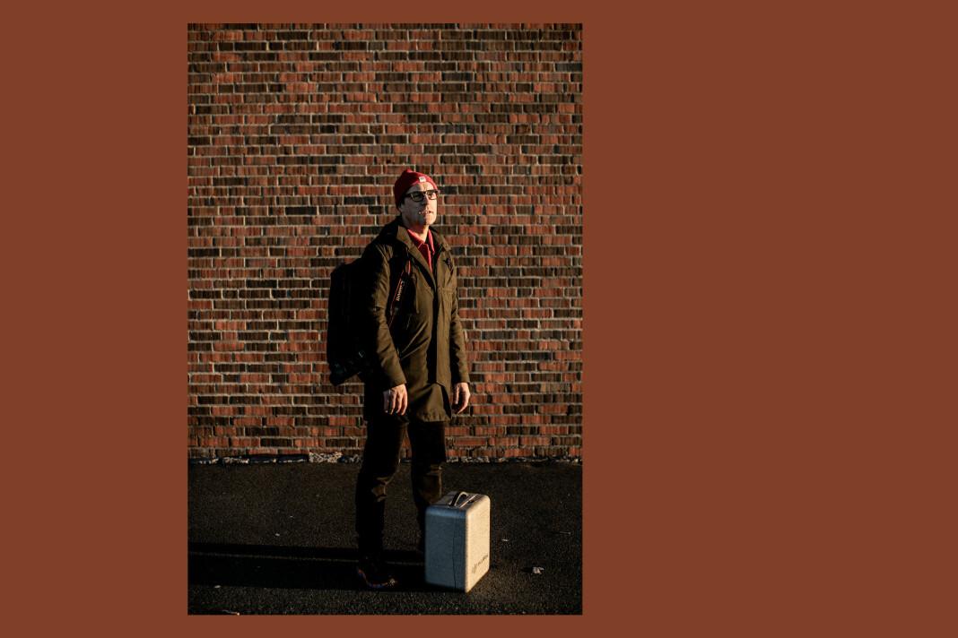 Håvard Jensen er fotograf i Adresseavisen. Foto: Mariann Dybdahl / Adresseavisen